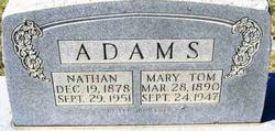 Mary Tom <I>Noel</I> Adams