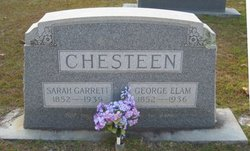 Sarah <I>Garrett</I> Chesteen