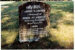 Jane <I>Camden</I> St. Andrew