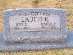 Martha Pansy <I>Gumbert</I> Lauffer