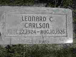 Leonard C. Carlson