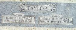 Elizabeth Ann <I>Allred</I> Taylor