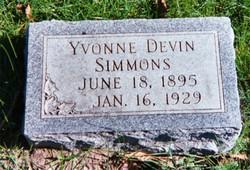 Yvonne <I>Devin</I> Simmons