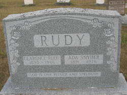 Clarence Rudy