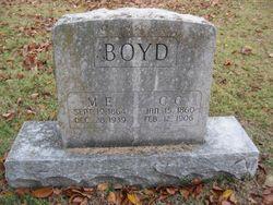 Mary Elizabeth F. <I>Branson</I> Boyd
