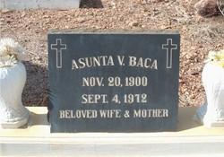 Asunta 'Susie' <I> Vozza</I> Baca