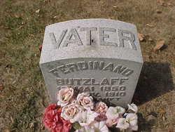 August Ferdinand Herman Butzlaff, Sr