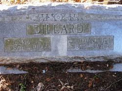 Emma Luella <I>McGee</I> Dillard