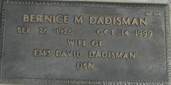Bernice M Dadisman