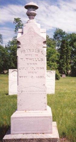 """Frances Clarinda """"Fanny"""" <I>Hicks</I> Twells"""