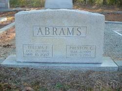 Thelma <I>Fisher</I> Abrams