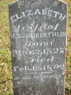 Elizabeth <I>Alderson</I> McGlothlin