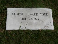 George Edward Buxton York