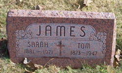 Sarah <I>Kizer</I> James