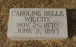 Caroline Belle Wilcox