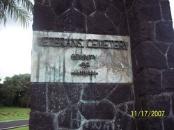 East Hawaii Veterans Cemetery No. 1