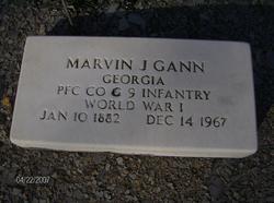 PFC Marvin J Gann