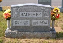 Allie Frances <I>Huddle</I> Baugher