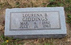 """Lourena Bell """"Belle"""" <I>Bowman</I> Giddings"""