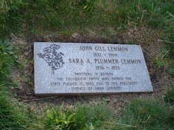 Sara Allen <I>Plummer</I> Lemmon