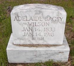 Adelaide <I>Bagby</I> Wilson