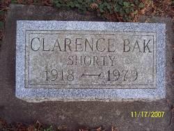 "Clarence Jensen ""Shorty"" Bak"