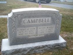 Bettie Waddie <I>Thompson</I> Campbell