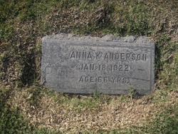 Anna K Anderson