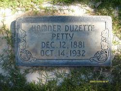 Hamner Duzette Petty