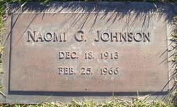 Naomi <I>Gibbons</I> Johnson