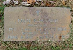 Faun Rowland