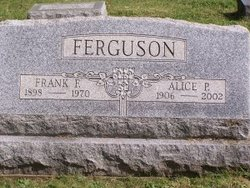 Alice P. <I>Gilmore</I> Ferguson