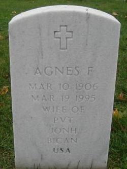 Agnes F Bican