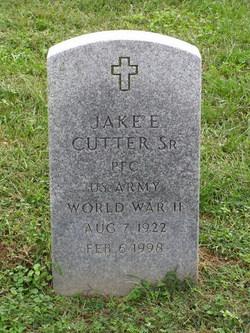 Jake Edward Cutter, Sr