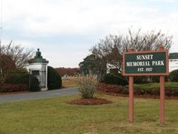 Sunset Memorial Park In Smithfield North Carolina Find