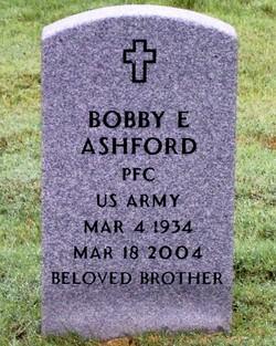 Bobby E Ashford