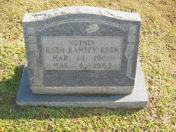 Annie Ruth Young <I>Ramsey</I> Keen