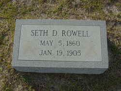 Seth D. Rowell