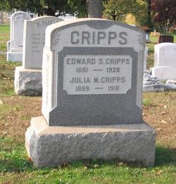 Julia M <I>Knight</I> Cripps