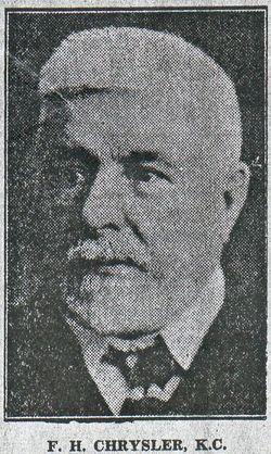 Francis Henry Chrysler