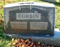 Elmer Lottie <I>Nicholson</I> Corbin