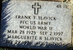 Frank T Slavick
