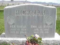 Ema Lu <I>Evans</I> Hickman