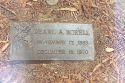 Pearl Alice <I>Pannett</I> Borell