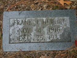 Frank T. Hewett