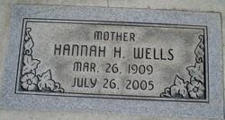 Hannah <I>Hegsted</I> Rose