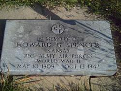 PFC Howard G Spencer