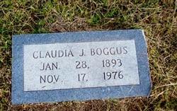 Claudia J. <I>Hosch</I> Boggus