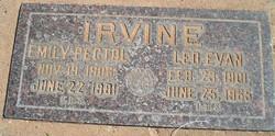 Leo Evan Irvine