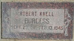 Robert Knell Burgess